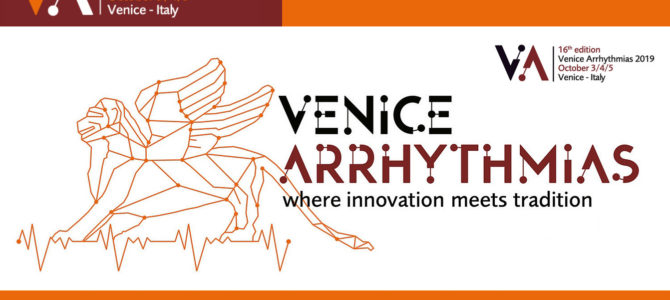 Congress Venicearrhytmias – VENICE 3-4-5 October 2019